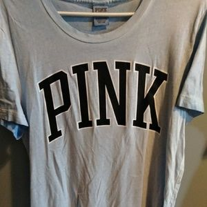 Vs pink campus tee size medium